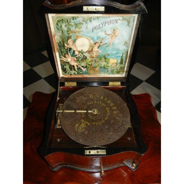 10414 Spieluhr Polyphon Louis Philippe 1870