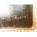 10478 Gemälde Wandbild mit Barockrahmen 0,90 m x 1,20 m