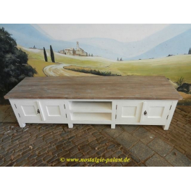 10592 Sideboard TV-Board Teak 1,95 m
