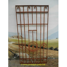 10742 Fence element wrought iron antique