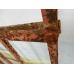 10742 Zaunelement Eisendekoration Schmiedeeisen Antik 0,85 m