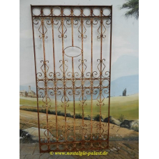 10744 Fence element wrought iron antique