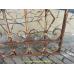 10744 Zaunelement Eisendekoration Schmiedeeisen Antik 1,03 m