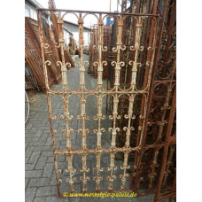 10779 Fence element wrought iron