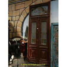 11062a Eingangstür Flügeltür Tür Gründerzeit 1880