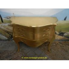 Barockkommode Gold 1,20 m