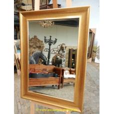 11138 Spiegel Wandspiegel Altgold 0,78 m x 1,09 m
