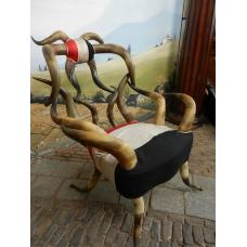 11156A Sessel aus Hörnern 1915