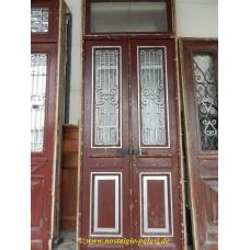 11212 Eingangstür Flügeltür Tür Jugendstil 1910
