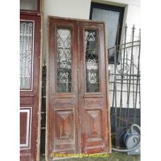 11214A Eingangstür Flügeltür Tür Jugendstil 1910