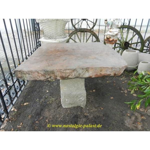 11259 Gartentisch Tisch Naturstein 1 25 M X 1 25 M