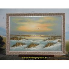 11586A Gemälde mit Rahmen 1,00 m x 0,70 m