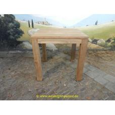 11601E Dining tabel teak 0,80 m x 0,80 m