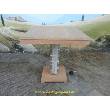 11667 Dining table teak 0,70 m x 0,70 m