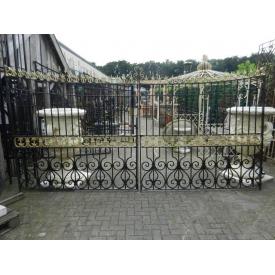 Double Gate Iron Antique 4.15 m - 12383