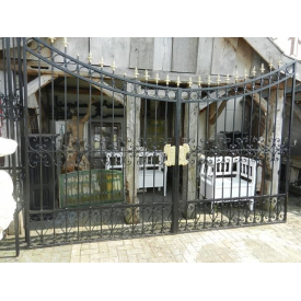 12385 Double gate - wrought iron 5.00 m