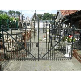 12386 Double Gate 3.00 m Jugendstil 1900