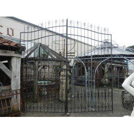12387 Double Gate - iron 3.50 m