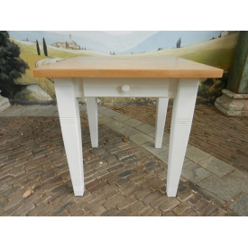 12394 Dining table - Softwood 0.80 m x 0.80 m