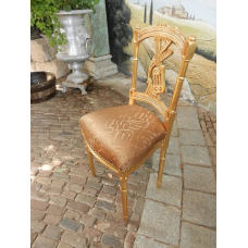 12450 Chair Gold