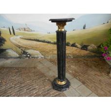 12457 Pillar Marble - Black 1.14 m