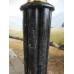 12457 Säule Pfeiler Marmor Schwarz 1,14 m