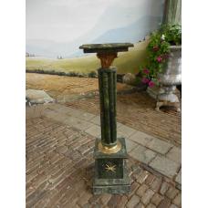12459 Marble pillar - Green 1.00 m