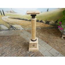 12462 Marble pillar - Beige 1.00 m