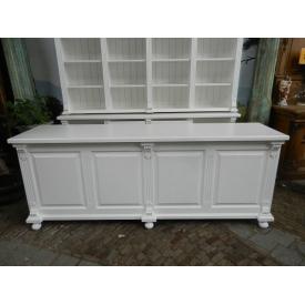 12565E Sales counter Celine - White 2.50 m