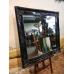 12695E Spiegel Schwarz 1,09 m x 1,09 m
