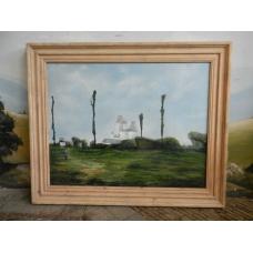 12739 VAN THIEL & CO. Gemälde Wandbild 1,96 m x 1,62 m