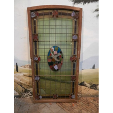 12917A Fenster Bleiverglasung Jugendstil 1900