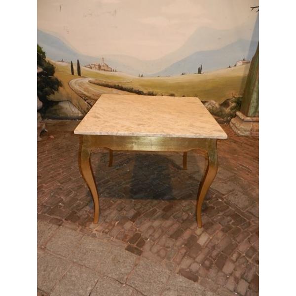 12963 Cafetisch Tisch Marmor 0,91 m x 0,91 m