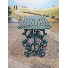13121a Garden Table - Cast Iron 0.91 m x 0.56 m