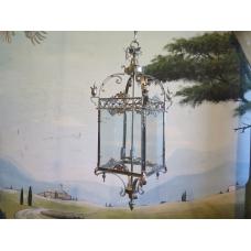 13298A Hängelampe Lampe Silber 1,20 m
