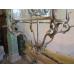 13300 Hängelampe Lampe Silber 1,20 m