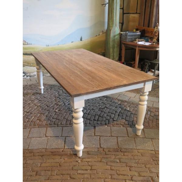 13493 Esstisch Tisch Teakholz 2,00 m x 1,00 m