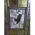 13544A Fenster Bleiverglasung Jugendstil 1900