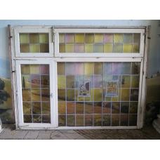 13545A Fenster Bleiverglasung Jugendstil 1900