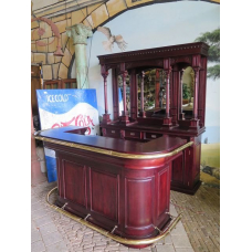 13548 English Bar - Mahogany 2.00m