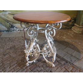 13666 Side Table VAN THIEL & CO. - Iron Ø 0.77 m