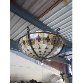 13668 Tiffany Hanging Lamp Ø 1.50 m