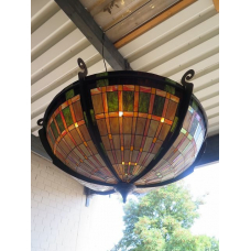 13670 Tiffany Hanging Lamp Ø 1.50 m