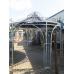 13672A Pavillon verzinkt Ø 4,10 m