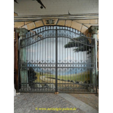 13698 Double Gate - wrought iron 3.65 m