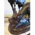 13712 Skulptur Figur Hirsch Bronze 0,75 m