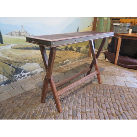 13865 Side Table Bauer International Inc. Teakholz 1,27 m