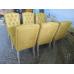 13873 Stuhl Esszimmerstuhl PU-Leder Nepal Mustard