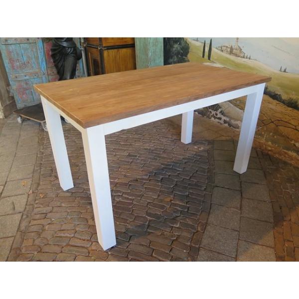 13935 Esstisch Tisch Teakholz 1,40 m x 0,80 m