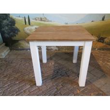 13936 Küchentisch Tisch Teakholz 0,80 m x 0,80 m